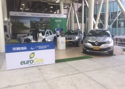 Stand EUROGAS Expocar 2019