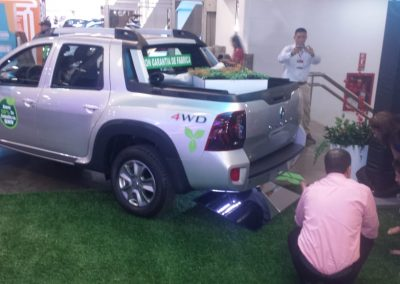En Expocar con nuevos montajes para cilindros de gnv
