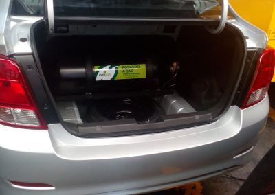 Maleta Chevrolet BEAT, con cilindro de 40 litros, con un lleno de 14.500 pesos aproximadamenteofrece un rendimiento aproximado para 120 km