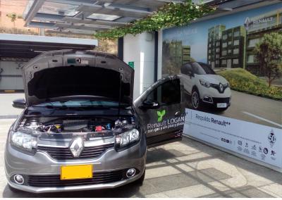 Renault Logan particular homologado por Sofasa para GNV