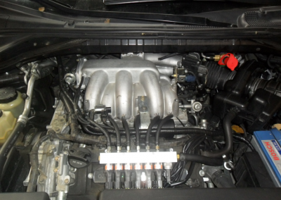 Motor Murano V6 con GNV