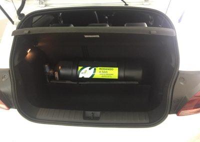 Chevrolet Onix Turbo - Cilindro Gas